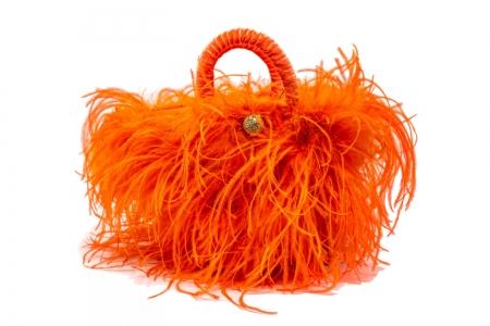 L coffa bag in Orange