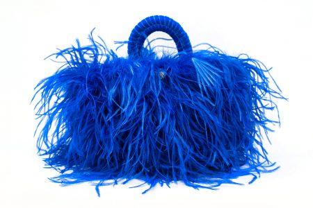 L coffa bag in Electric Blue