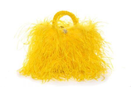 L coffa bag in Yellow