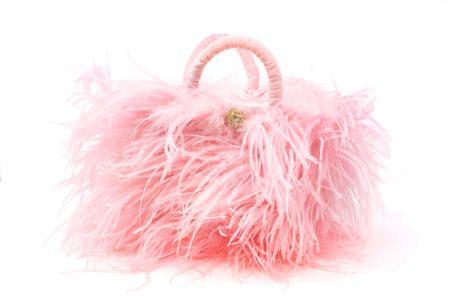 L coffa bag in Pink Sugar