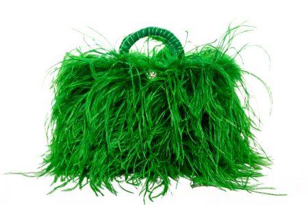 L coffa bag in Emerald Green