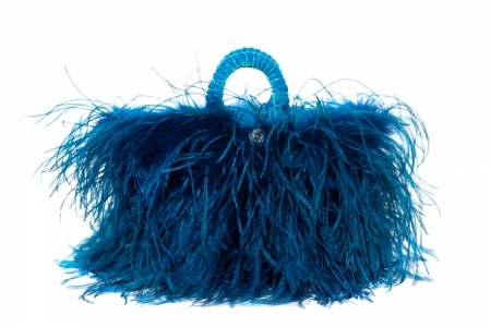 L coffa bag in Blue Mermaid