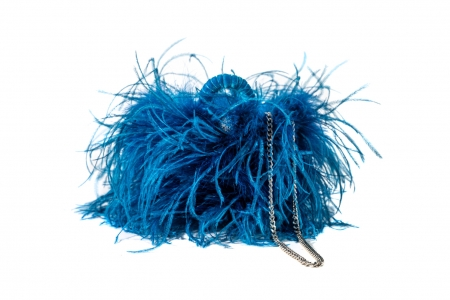 S coffa bag in Blue Mermaid