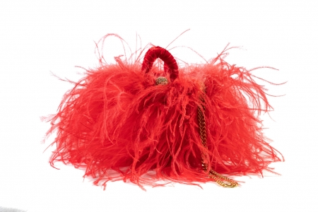 S coffa bag in Shocking Coral