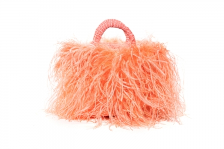L coffa bag in Velvet Peach