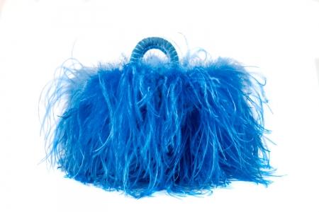 L coffa bag in Blue jeans