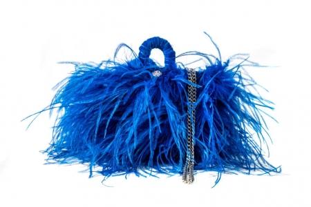 S coffa bag in Blu Elettrico