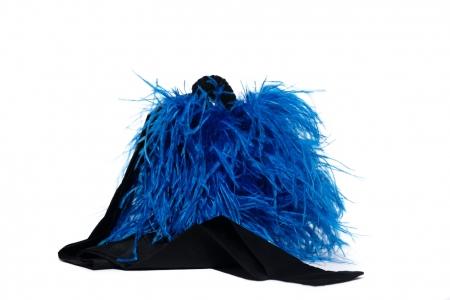 Coffa bucket Blu Elettrico e Nero