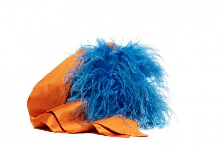 Coffa bucket Bluette e Arancio