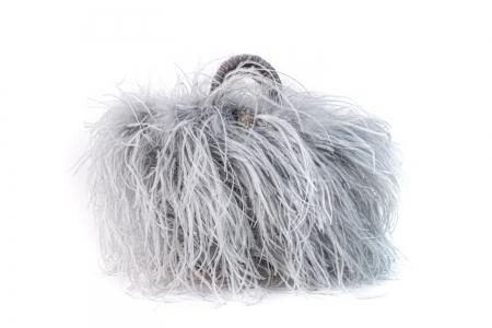 L coffa bag in Pearl Grey