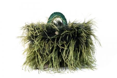 L coffa bag in Forest Green