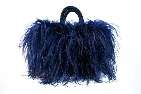 L coffa bag in Blue Navy