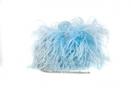 S coffa bag in Cloud Blue