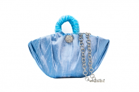 Oyster bag in Dream Blue