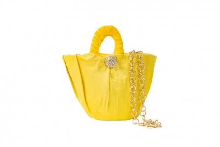 Oyster bag in Mimosa Yellow