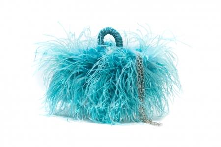 S coffa bag Fluo Blue