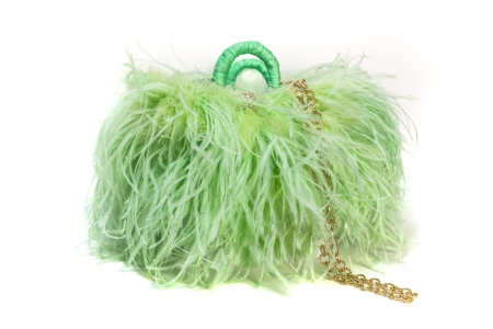 S coffa bag Fluo Green