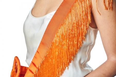 Shoulder strap in Mandarin Orange