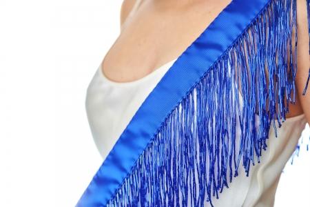 Shoulder strap in Electric Blue