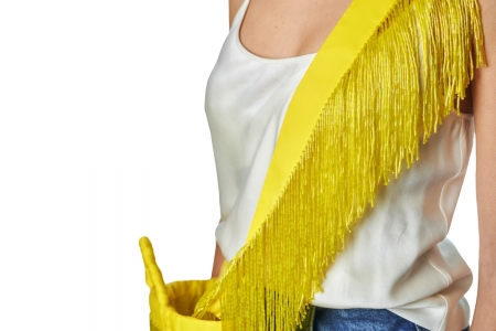 Shoulder strap in Lemon Yellow