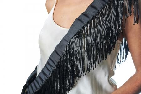 Shoulder strap in Shiny Black