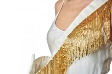Shoulder strap in Gold