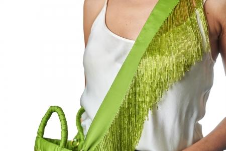 Shoulder strap in Lime Green