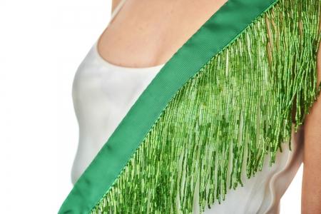 Shoulder strap in Emerald Green